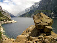 Boulder at Hetch Hetchy