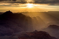 Sunrise from Shoshone Point