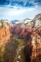 Portrait of Zion Canyon
